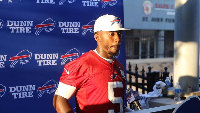 Tyrod Taylor discusses trade of Cardale Jones
