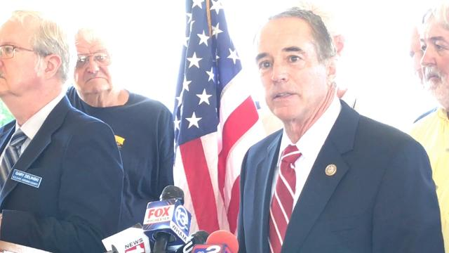 From 2017: Rep. Chris Collins hasproposed  federal legislation that would make illegal key parts of New York's SAFE Act. Collins' bill is calledSAGA— the Second Amendment Guarantee Act.