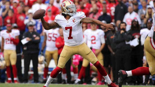 Bills WR Streater says he's surprised Kaepernick not at a training camp