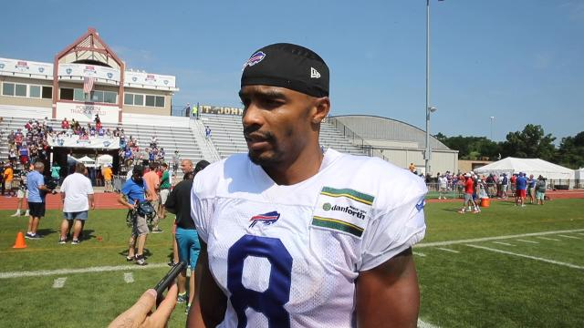 Bills receiver Rod Streater talks about his love for animation and other interests.