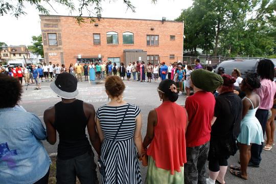 Two years after a drive-by shooting on Genesee Street killed three, the Boys & Girls Clubs of Rochester is still trying to help the families impacted as well as deal with its own trauma.