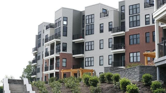 The Residences at Canalside in Fairport are new condos that start at $350,000.