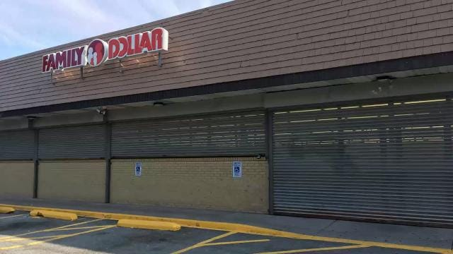 323 former Family Dollar stores have closed in 2017. Closings include three in Rochester and one in Greece, and have left residents.