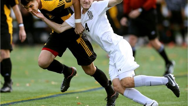Boys soccer: Defending Section V champions