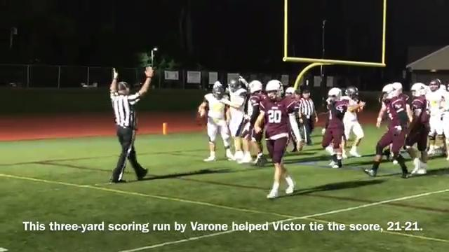 Game highlights: Victor at Aquinas