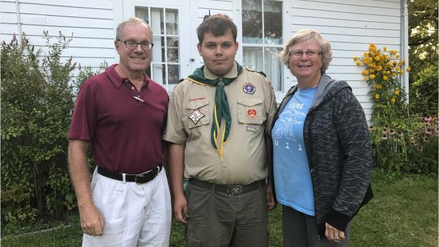Eagle Scout project alters Ogden historic landmark