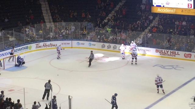 Amerks beat the Crunch 3-1