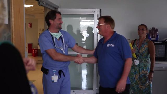 Penfield man lives to thank doctors after cardiac arrest