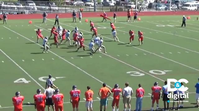 Acrobatic football catch is our Play of the Week!