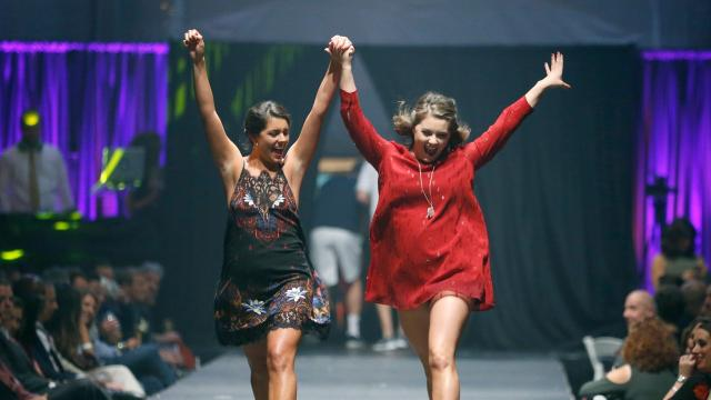 2017 file: Fashion Week of Rochester, wrapped up its week with a grand finale. Proceeds from the events go toward supporting programs at the Center for Youth.