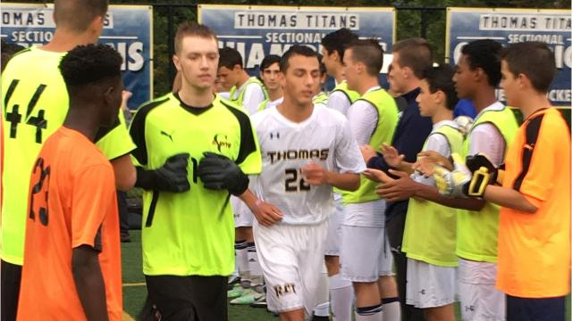 The Webster Thomas soccer forward was diagnosed with testicular cancer on Jan. 22, but the senior came back strong and leads the Titans into Friday's Section V Class AA Tournament opener with 10 goals.