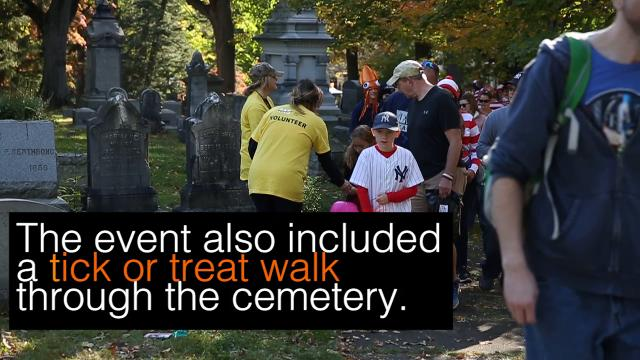 Mt. Hope Cemetery organized the Monster Scramble 5K and 10K on Sunday morning, Oct. 22, 2017.