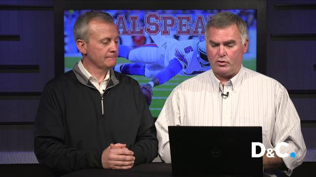 D&C sports reporter Sal Maiorana and Mike Catalana, sports director at 13WHAM, talk about the new quarterback and what the change means for the offense.