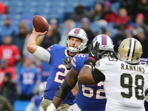 Buffalo Bill Nathan Peterman gets his chance