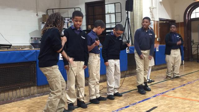 "Rochester Prep fourth-graders nail ""Hamilton'"" rap. These 8- and 9-year-olds are not throwing away their shot."
