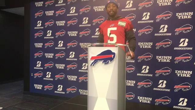 Tyrod Taylor talks about returning as Bills' starting QB