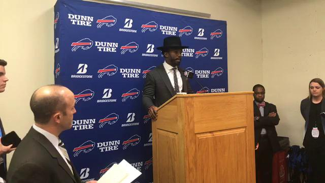 Tyrod Taylor says Buffalo Bills love being underdogs
