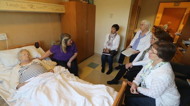 Bedside serenades bring families comfort as they help loved ones at the end of life.