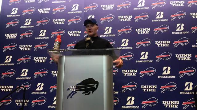 Bills' coach Sean McDermott says Buffalo is a special place to play