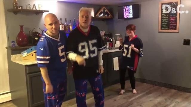 DeGroat's musical parody videos about the Bills went viral, and thanks to a few generous fans, he and his wife are headed to the Bills playoff game in Jacksonville, Florida on Sunday.