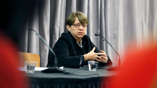 Former U.S. Attorney for the Southern District Mary Jo White praises all the women who came forward in the University of Rochester sexual harassment investigation.