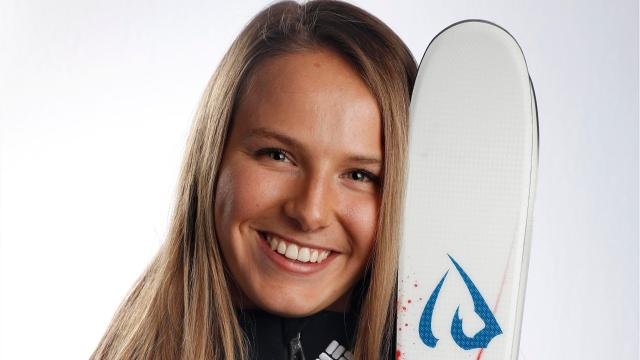 The 20-year-old former soccer and softball player at Pittsford Sutherland, who grew up skiing at Bristol Mountain, earned her first spot on the U.S. moguls team on Jan. 11. The Olympics start Feb. 9 in South Korea.