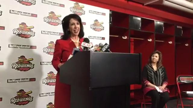The Rochester Red Wings will be playing their home games at Frontier Field this season - and for many years to come. Watch the announcement explaining the details. (Feb. 12, 2018)