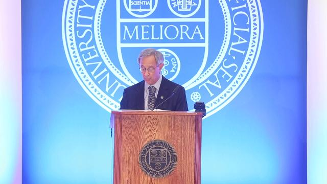 Outgoing UR president shares some of his vision on the university's future.