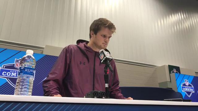 NFL Combine interview: Sam Darnold