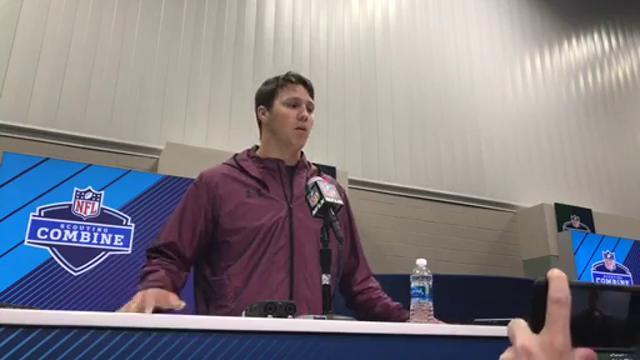 NFL Combine interview: Josh Allen