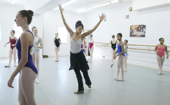 Retired ballet star Aesha Ash now works to change stereotypes for women of color.
