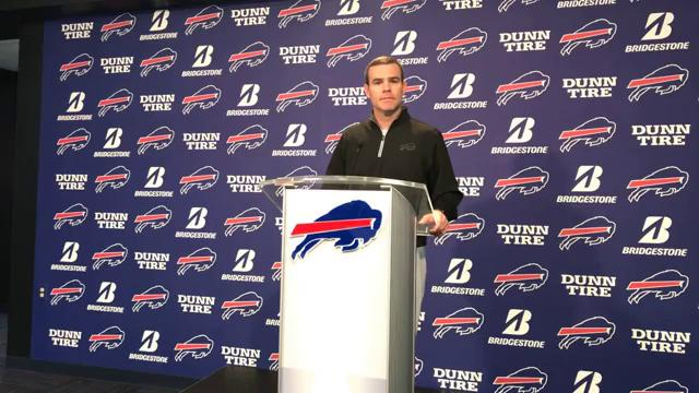 The Bills' general manager talks about the recent signings and his team's approach to free agency.
