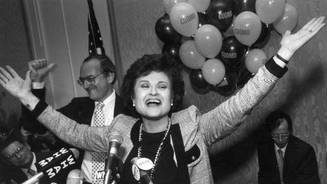 Monroe County Executive Cheryl Dinolfo reacts to the passing of Congresswoman Louise Slaughter.