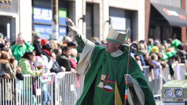 Thousands of people lined the streets along East Avenue and Main Street for the annual St. Patrick's Day parade.