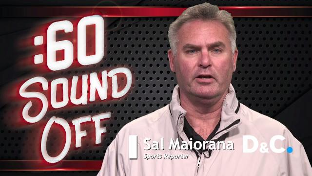 Sal Maiorana sounds off in :60 about how he would handle the NFL draft if he was the Buffalo Bills general manager.