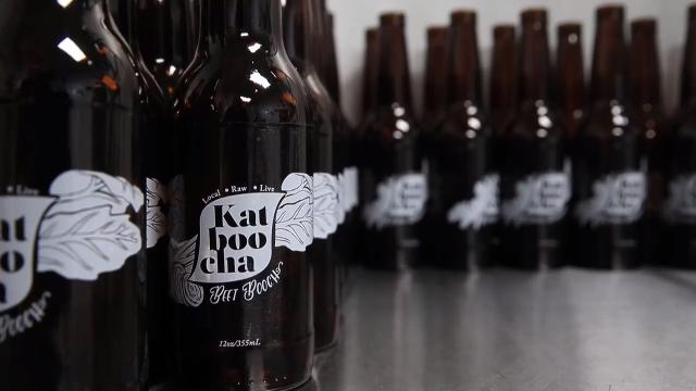 Katarina Schwarz has opened Katboocha, the first kombucha only brewery in the city of Rochester.