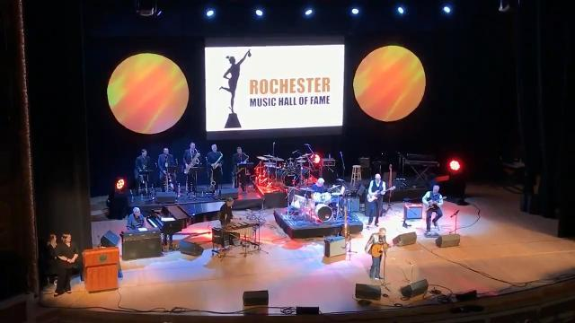 The Rochester Music Hall of Fame 2018 induction ceremony. was a night to honor Rochester 'greats'. Paul Simon dropped in to help celebrate.