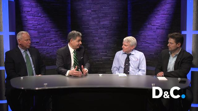 Dave Andreatta and Gary Craig talked about the Astacio case with Robert Tembeckjian and John J. Postel, officials with the State Commission on Judicial Conduct.