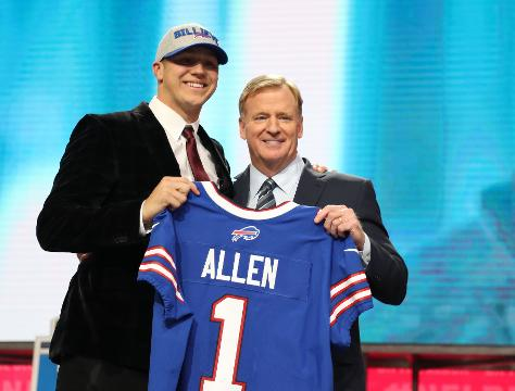 330ce1e7823 Did the Bills pick the right QB in Josh Allen