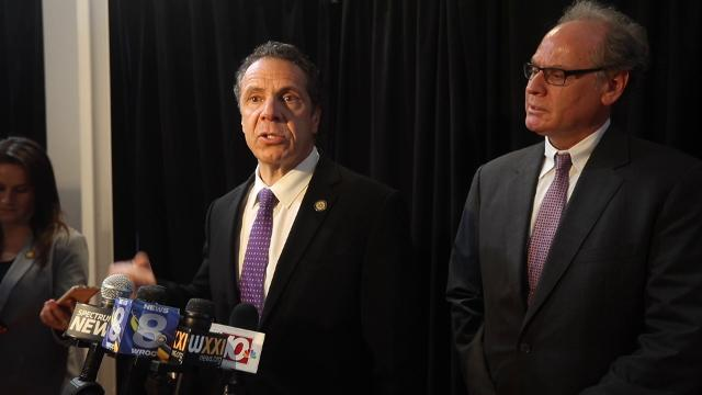 Cuomo and New York state are in dispute with Spectrum over access to broadband and franchise payments in New York City.