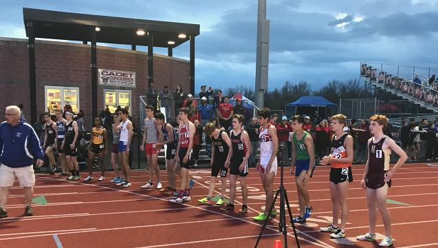Penfield senior Tyler Senall won one of Section V's most-anticipated high school distance races in his first appearance.