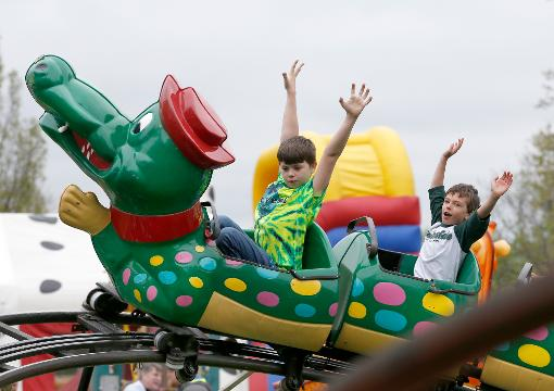 Saturday at the Lilac Festival was highlighted by the annual parade. Video by Carlos Ortiz.