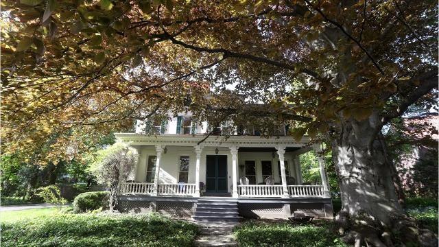 take a look inside this italianate mansion on east avenue with a hidden garden - Hidden Garden