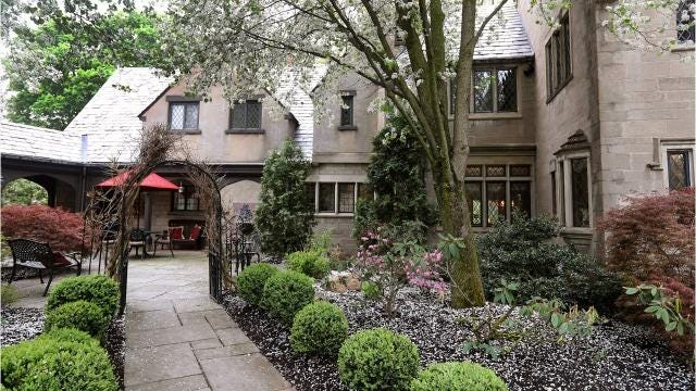"The Brighton mansion tucked away on Elmwood Avenue is described as a ""country estate close to everything"" and goes on the market for $1.8 million. (May 16, 2018)"
