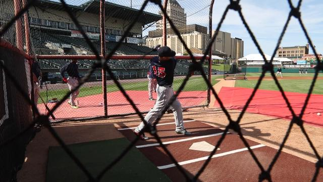 Boston Red Sox second baseman Dustin Pedroia stops in Rochester on rehab stint for a three-game series.