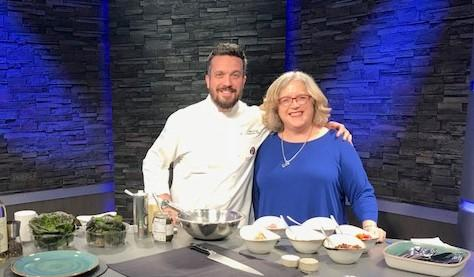 Chef Fabio Viviani, Top Chef star, shares a recipe from his restaurant, Portico by Fabio Viviani at the Del Lago Resort and Casino.