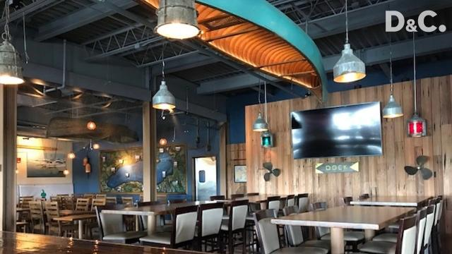 Waterfront event space Arbor at the Port opens Friday. Restaurant and bar Jetty at the Port will also reopen its renovated space upstairs.