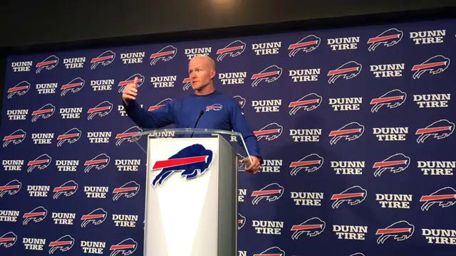 The Buffalo Bills coach likes what he sees as his team heads toward training camp.