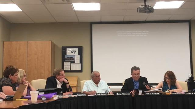 The East Irondequoit Board of Education upheld the superintendent's punishment  of a 26-day suspension for Caleb Delly on an allegation that he ate a brownie containing marijuana.