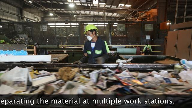 Curbing a growing recycling problem